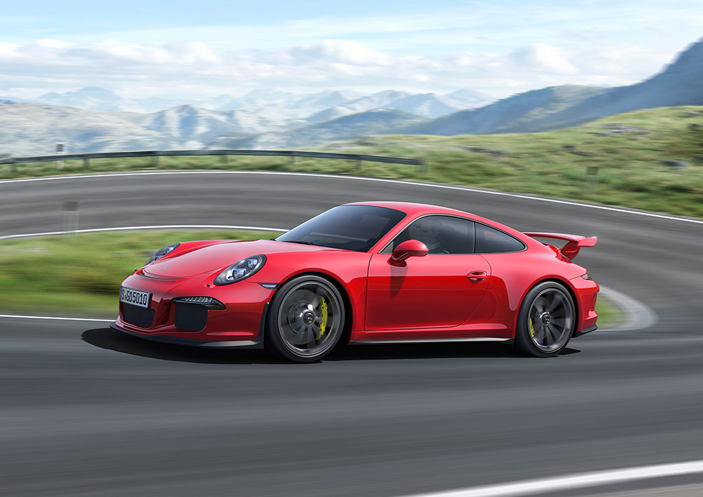 Porsche 911 GT3 2013 5