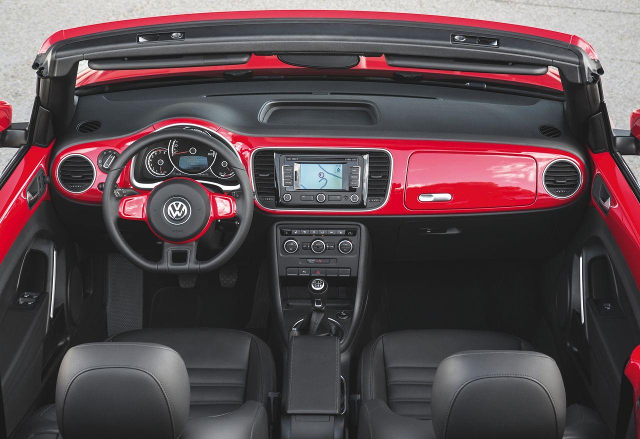 Nuevo Volkswagen Beetle Cabrio: precios y equipamiento