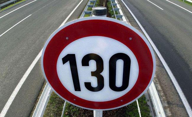 limite 130 kmh
