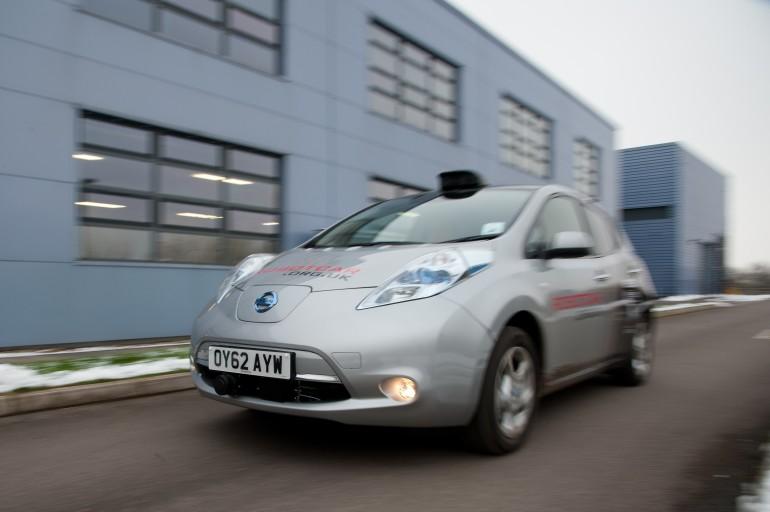 oxford robot car nissan leaf