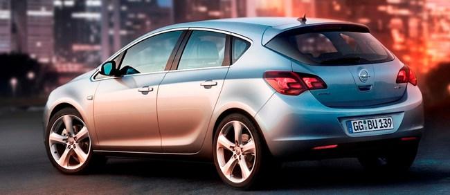 17 Opel astra