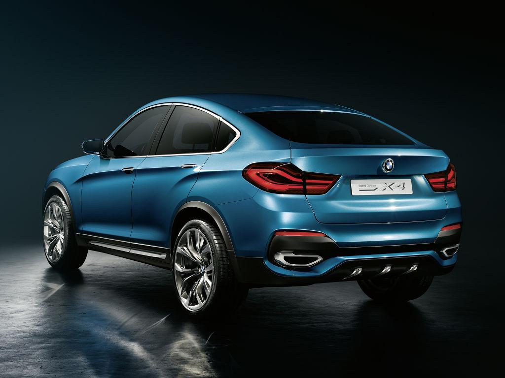 BMW X4 Concept trasera