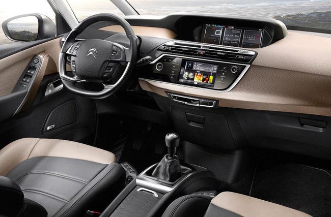 Citroen C4 Picasso 2013 interior