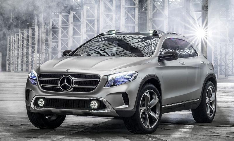 Mercedes GLA Concept 1