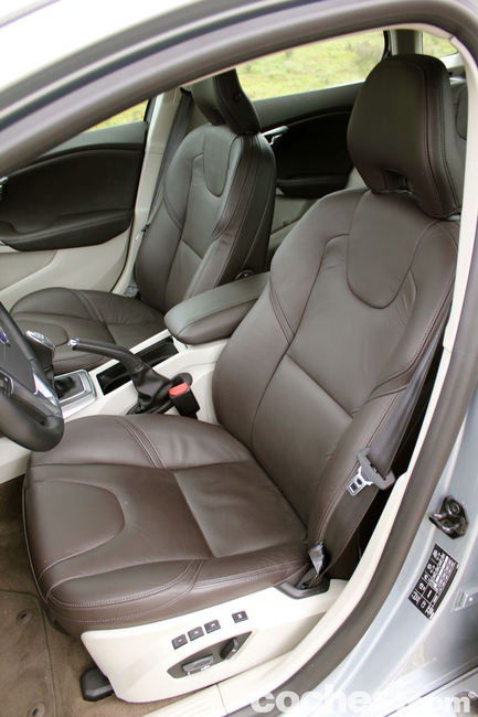 Prueba Volvo V40 -interior 11