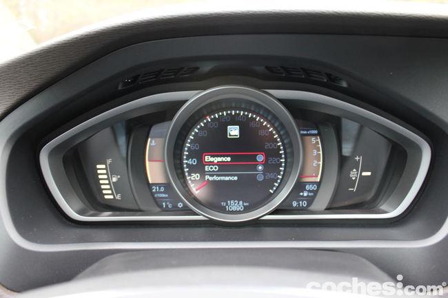 Prueba Volvo V40 -interior 21