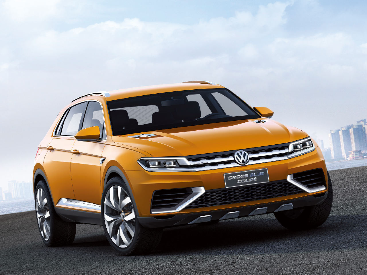 Volkswagen Crossblue Coupe Concept 5