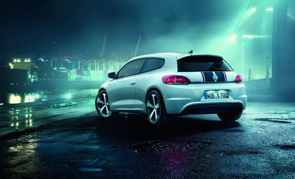 Volkswagen Scirocco GTS trasera