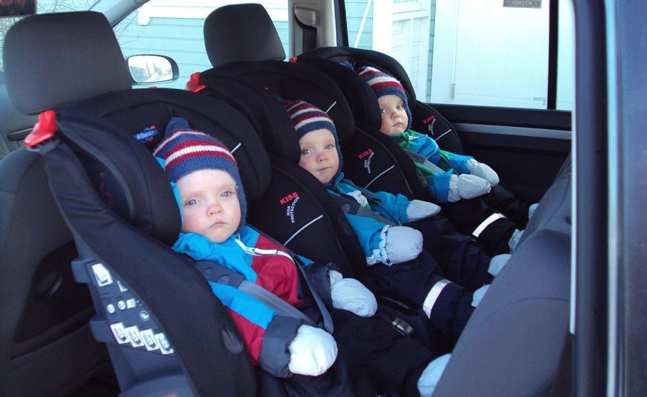 niños coche