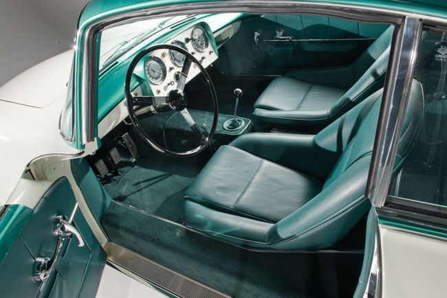 1956 Aston Martin DB2_4 MkII 'Supersonic' by Carrozzeria Ghia interior