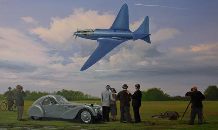 Bugatti-100P origen