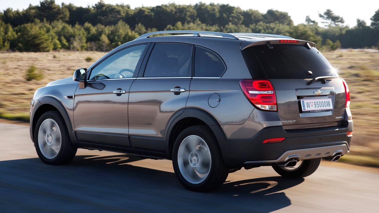 Nuevo Chevrolet Captiva 2013 Precios Y Equipamiento