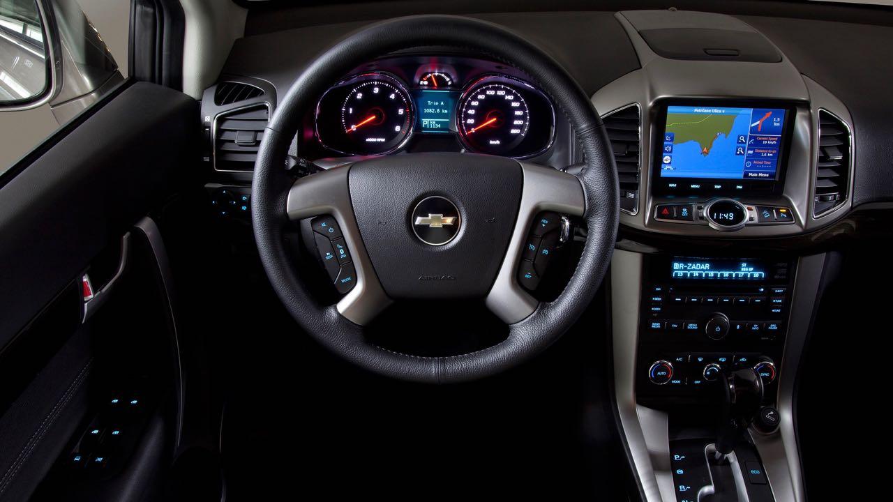 Nuevo Chevrolet Captiva 2013: precios y equipamiento