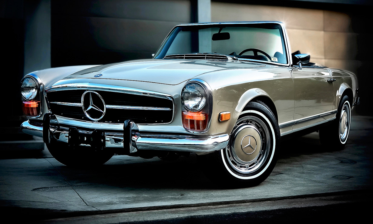Mercedes 230 sl pagoda w113 for Mercedes benz 280sl pagoda