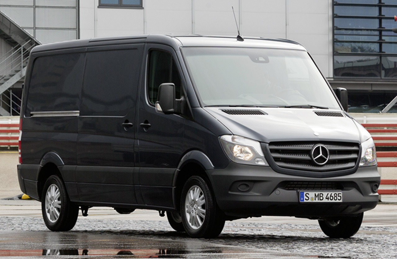 The new Mercedes-Benz Sprinter 2013