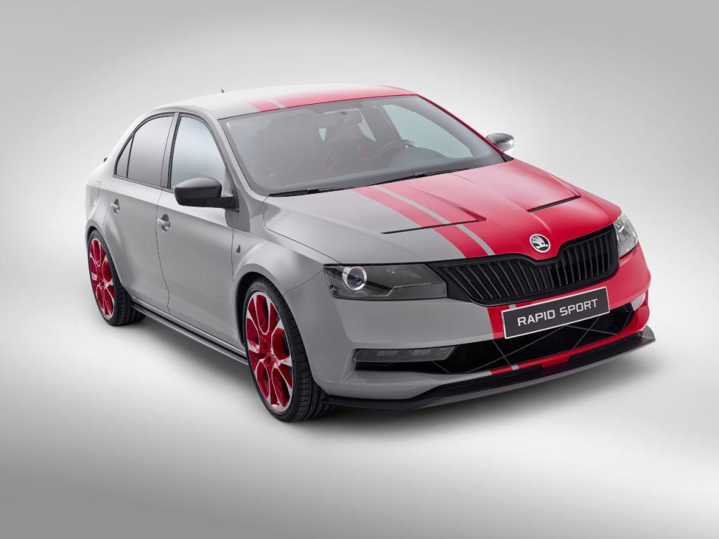 Skoda Rapid Sport Concept 2