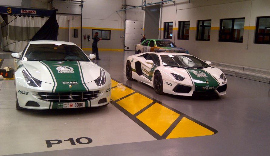 coches policia Dubai