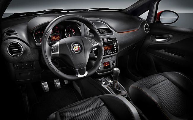 Abarth Punto 165 CV interior 2