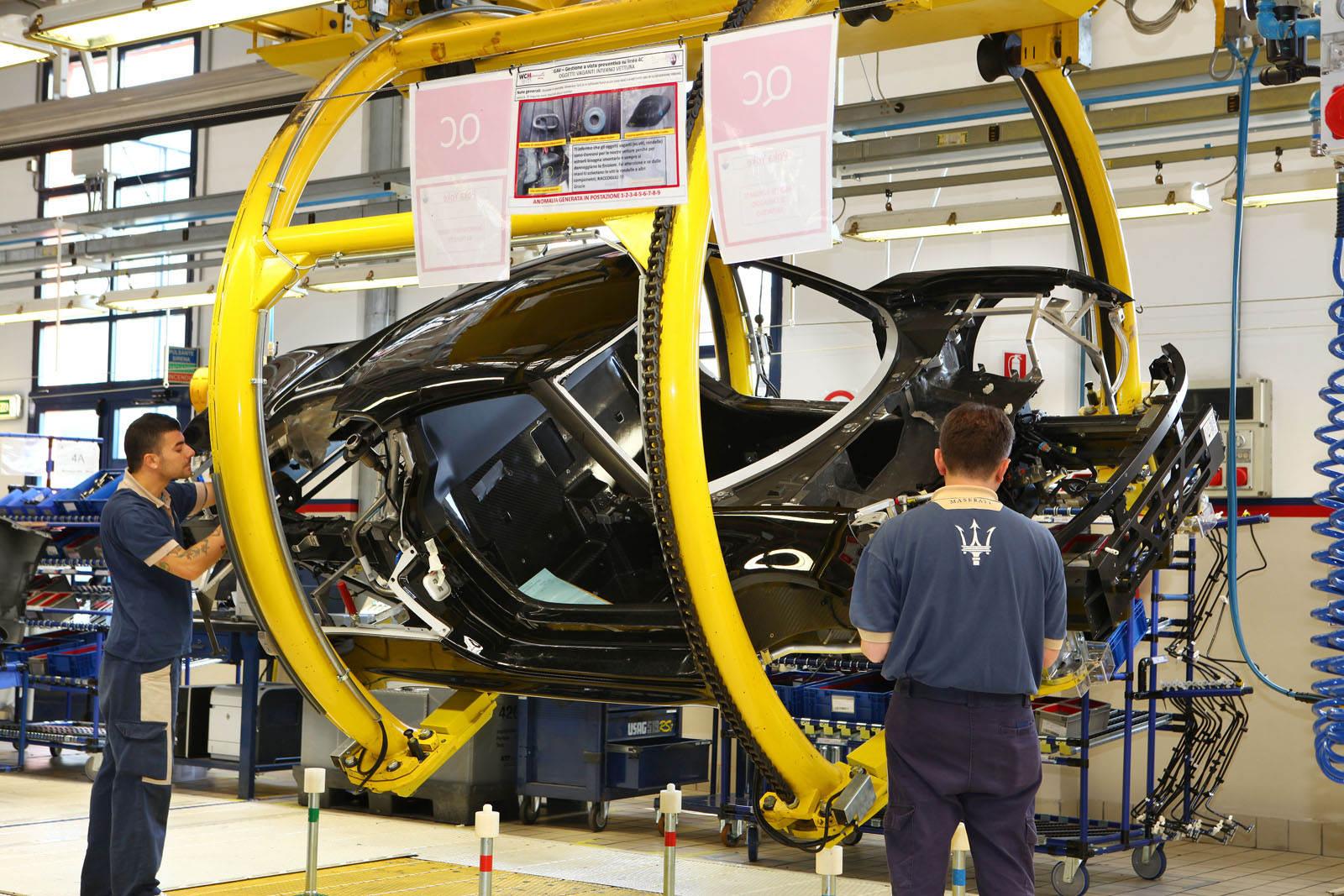 Alfa Romeo 4C fabricacion