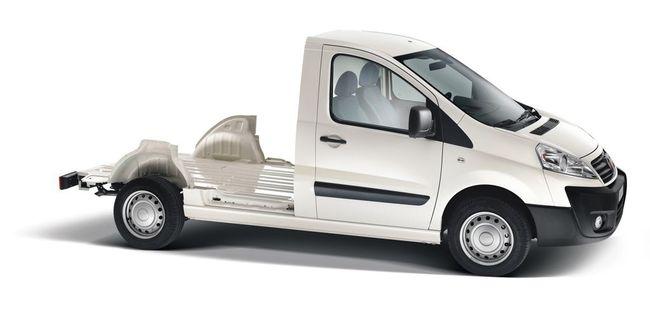 Fiat Scudo chasis cabina