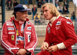 James Hunt VS Niki Lauda