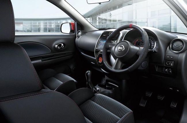 Nissan Micra Nismo interior 02