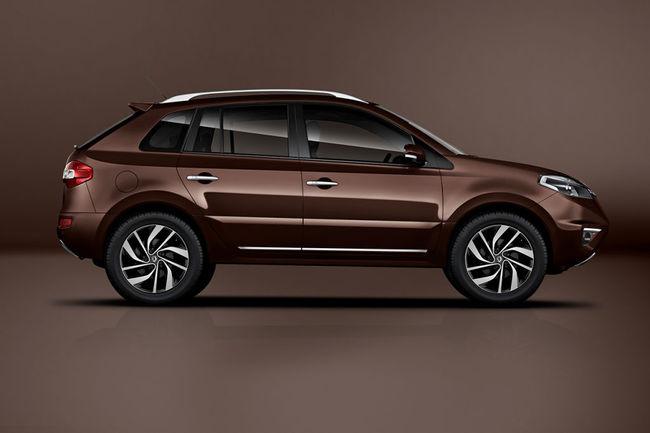 Renault Koleos 2013 estudio
