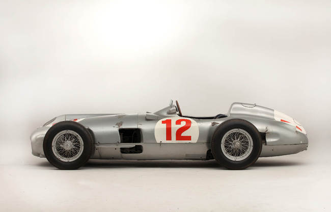 1954 Mercedes-Benz W196R Formula 1 Racing Single-Seater 08