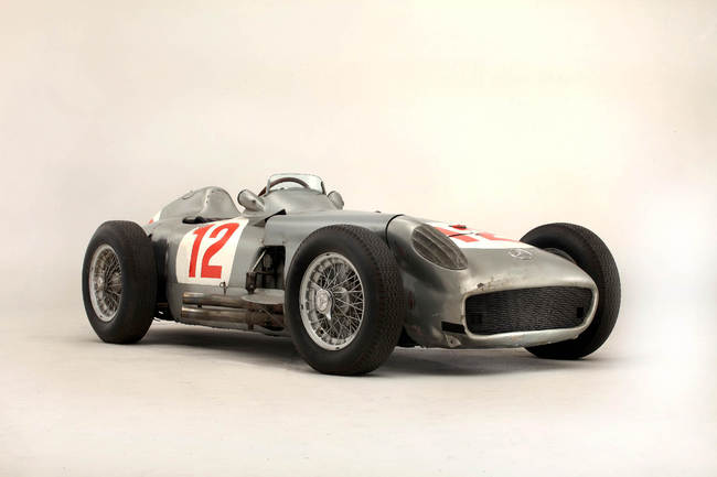 1954 Mercedes-Benz W196R Formula 1 Racing Single-Seater 12