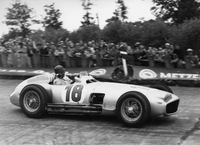 1954 Mercedes-Benz W196R Formula 1 Racing Single-Seater Fangio