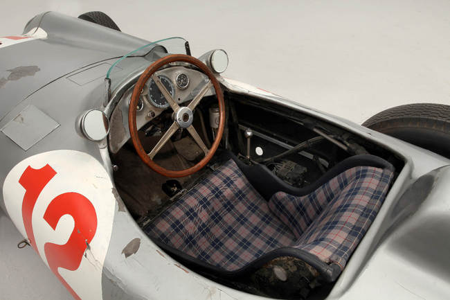 1954 Mercedes-Benz W196R Formula 1 Racing Single-Seater detalle 07