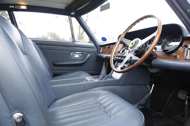 1965 Ferrari 330GT John Lennon interior 2