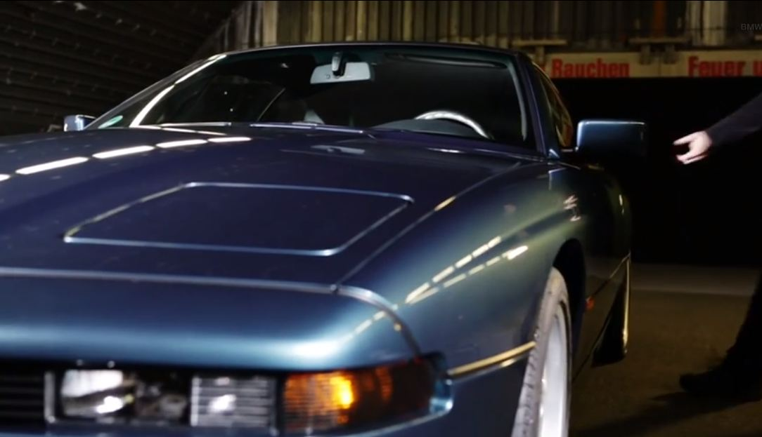 BMW Serie 8 video