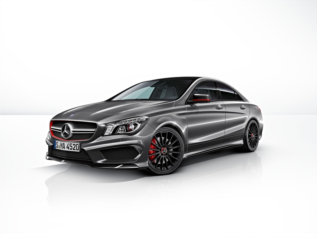nuevo mercedes cla 45 amg edition 1. Black Bedroom Furniture Sets. Home Design Ideas