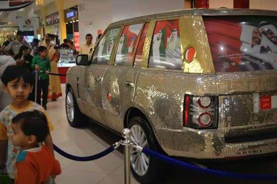 Range Rover tuneado monedas 3