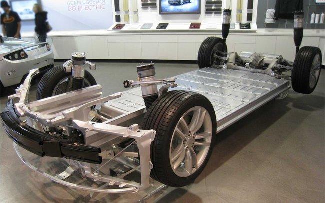 Tesla Model S baterias