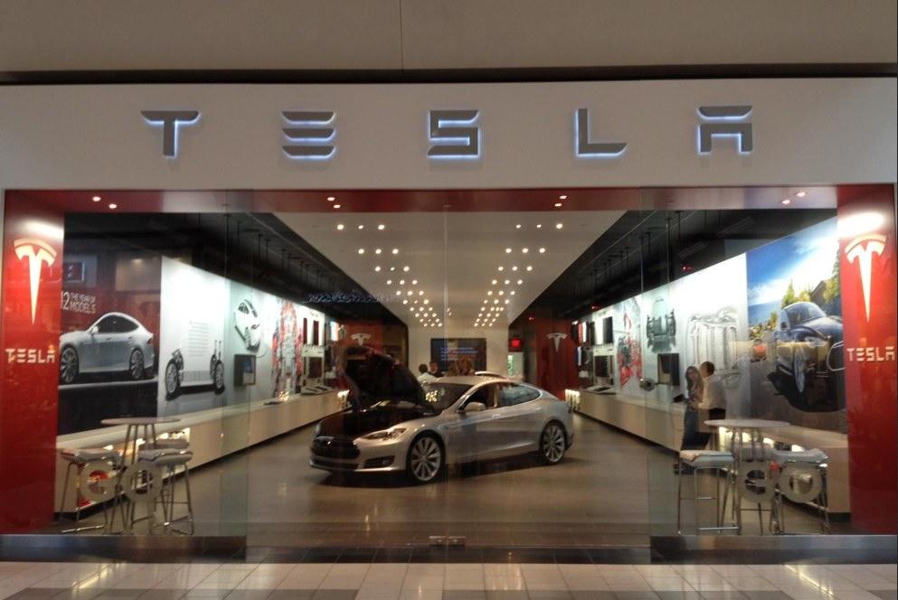 Tesla Motors shop