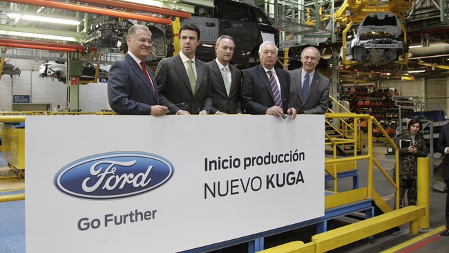 almussafes ford kuga