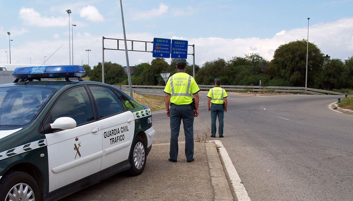 guardia civil trafico control
