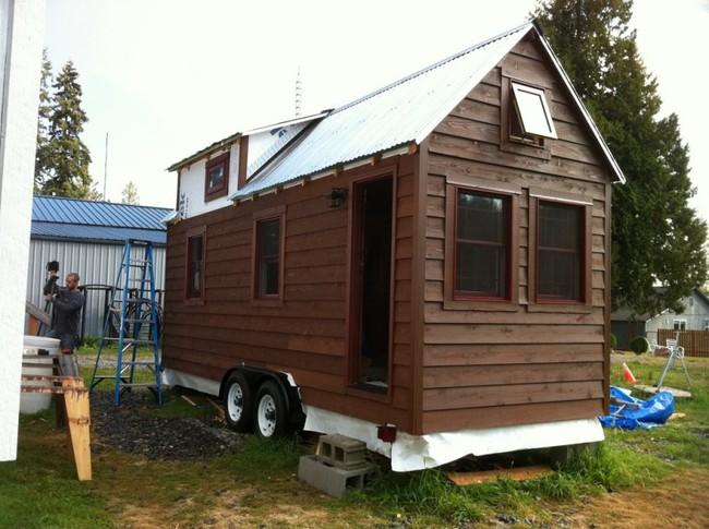 Una casa ecol gica sobre ruedas - Casas moviles madera ...
