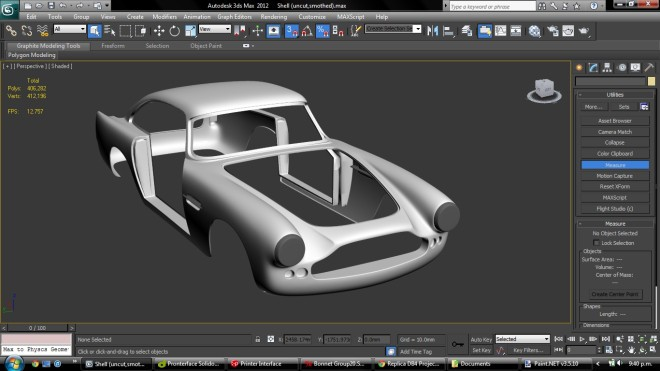 Aston Martin Db4 >> Imprime en 3D un Aston Martin DB4 a tamaño real