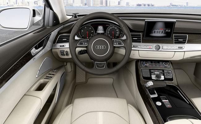 Audi A8 2013 interior 03