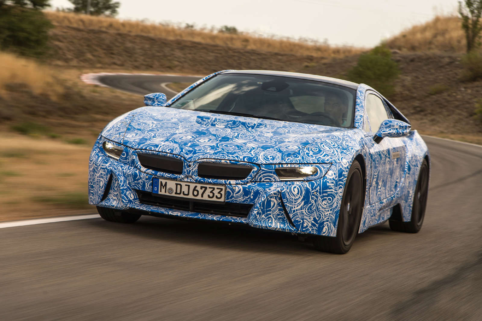 BMW i8 2013 2013 6