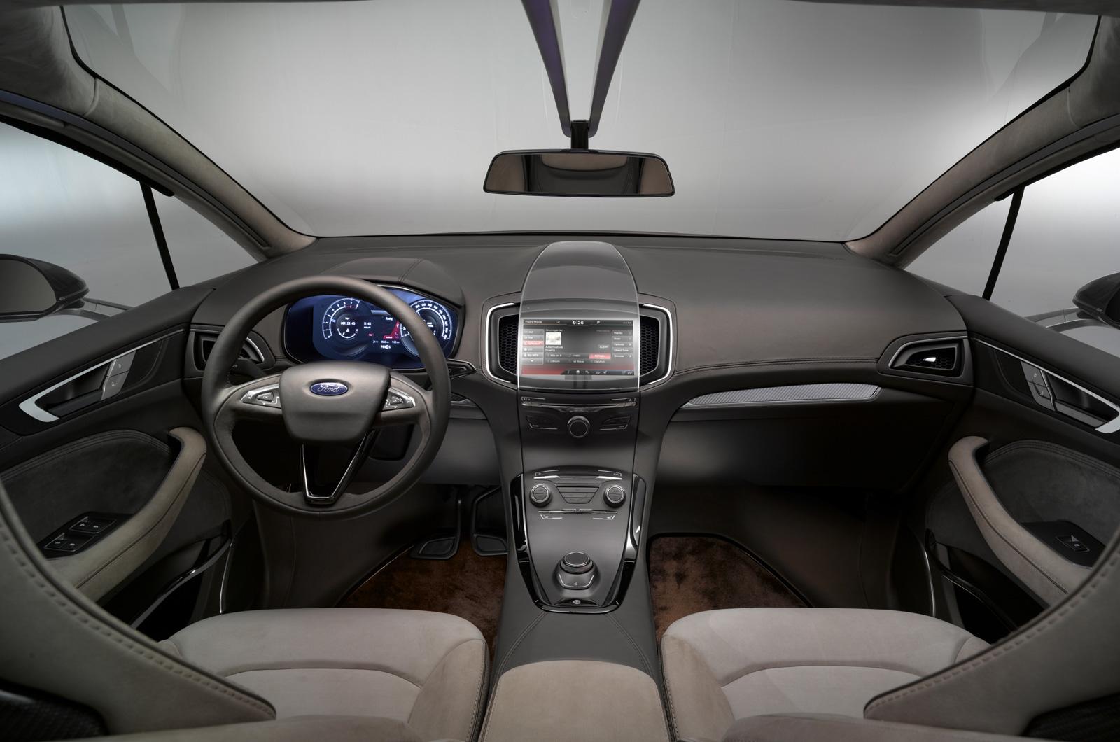 Ford S-Max Concept, la guía de diseño del futuro monovolumen