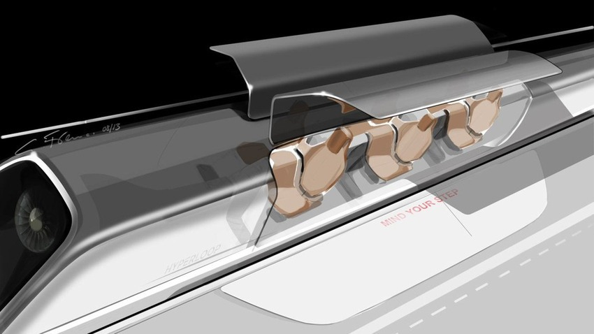 Hyperloop Musk capsula