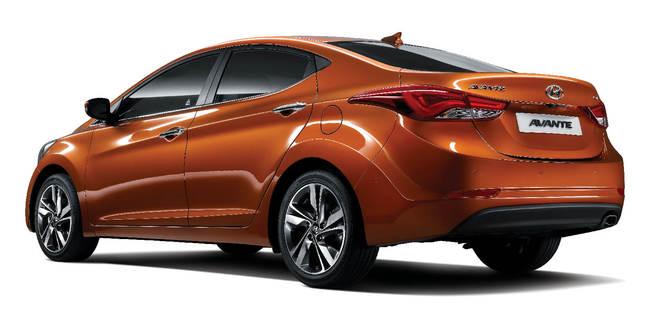 Hyundai Elantra facelift 2013  1