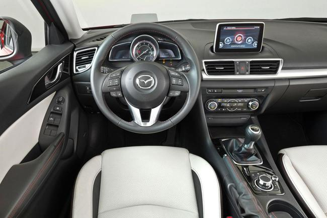 Mazda 3 SportSedan interior
