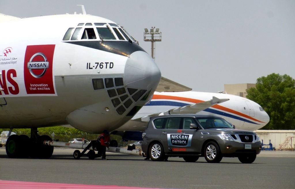 Nissan patrol avion