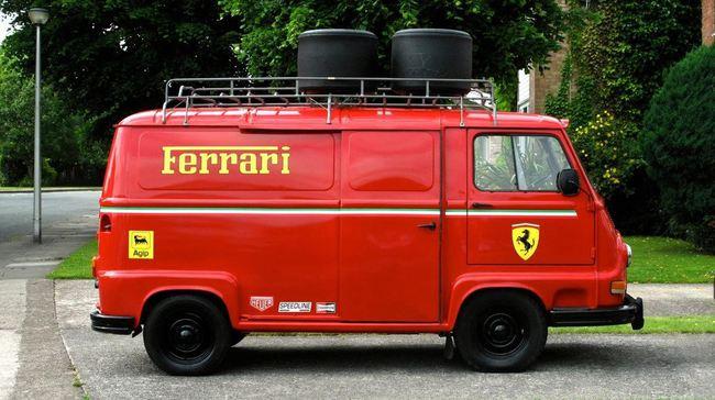 Renault Estafette F1 Ferrari 1976 03