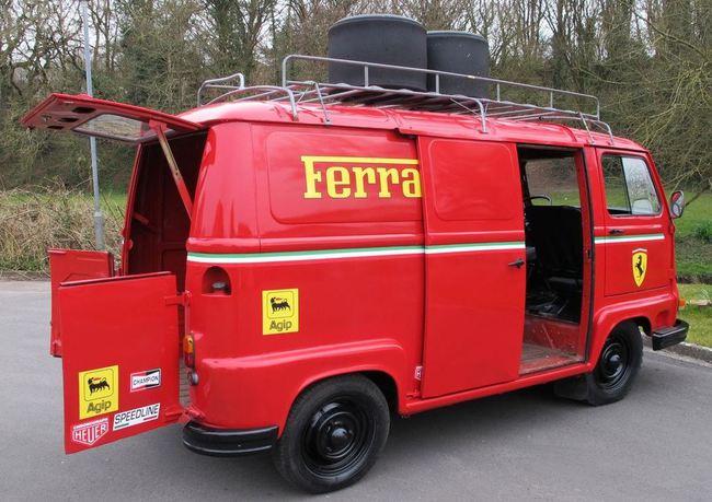 Renault Estafette F1 Ferrari 1979 02